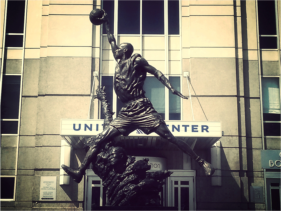 photo by Michael Jordan Statue