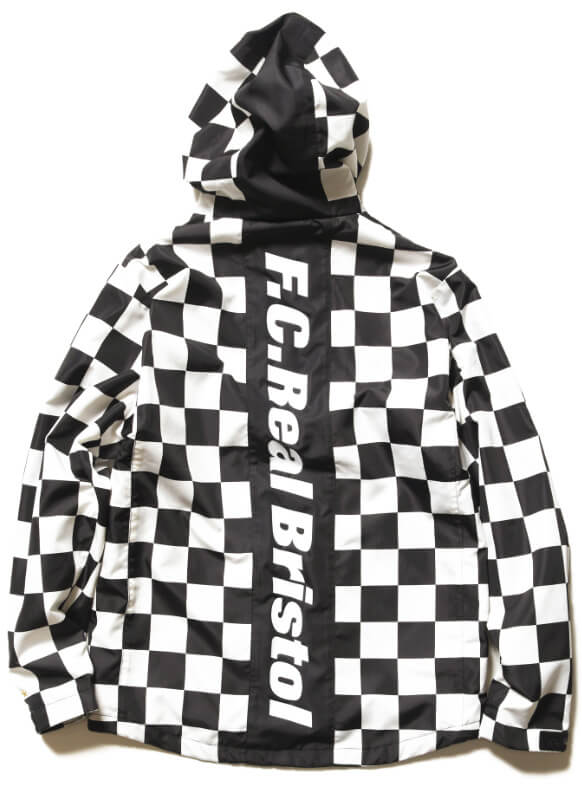 FCRB 2019SS PRACTICE JACKET BLACK BACK