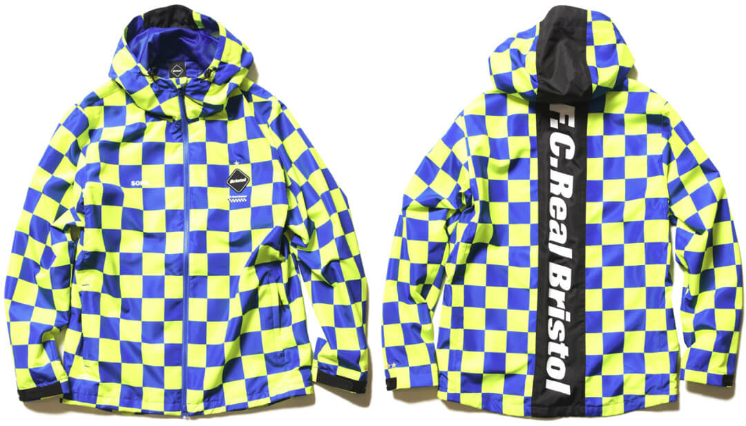 FCRB 2019SS PRACTICE JACKET BLUE