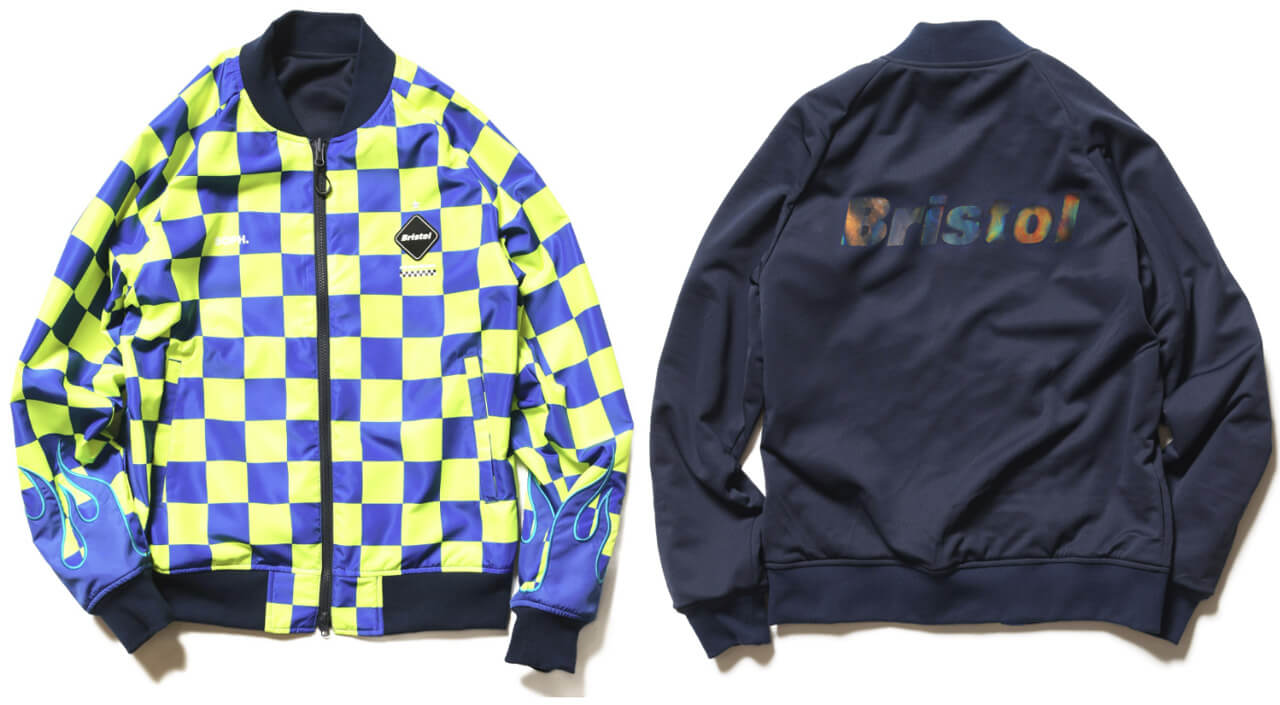 FCRB 2019SS REVERSIBLE PDK JACKET NAVY