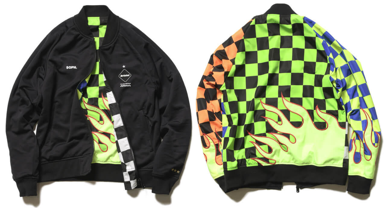 FCRB 2019SS REVERSIBLE PDK JACKET MULTI