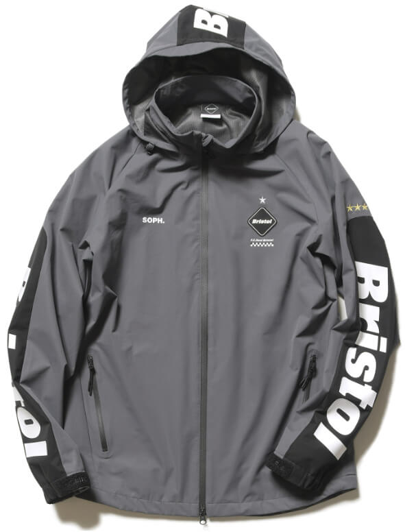 FCRB 2019SS WARM UP JACKET GREY