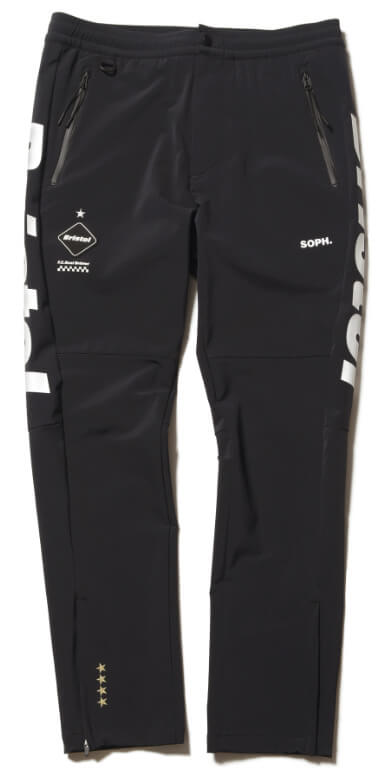 FCRB 2019SS WARM UP PANTS BALCK