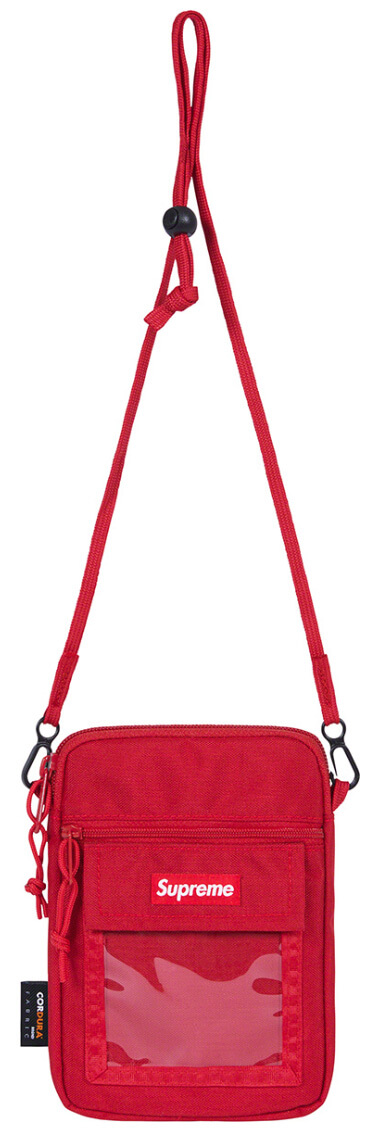 Supreme 2019SS Utility Pouch red