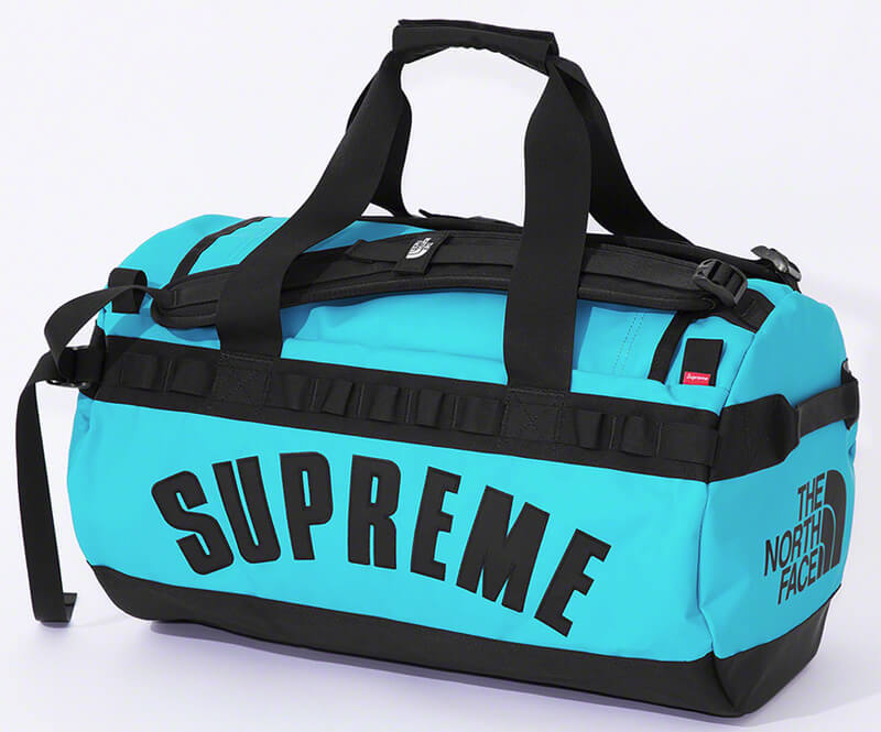 Supreme®/The North Face® Arc Logo Base Camp Duffle Bag Blue