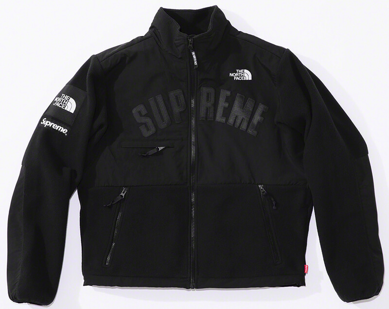 Supreme®/The North Face® Arc Logo Denali Fleece Jacket Black