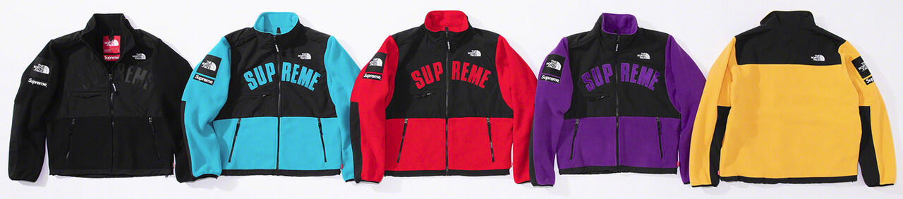 Supreme®/The North Face® Arc Logo Denali Fleece Jacket
