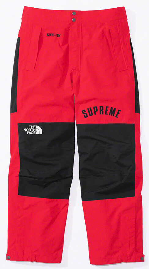 Supreme®/The North Face® Arc Logo Mountain Pant Red
