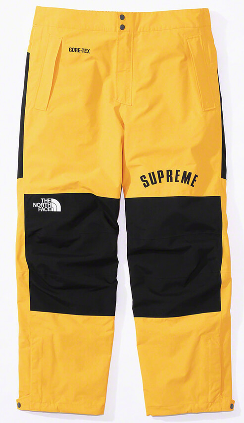 Supreme®/The North Face® Arc Logo Mountain Pant Yellow