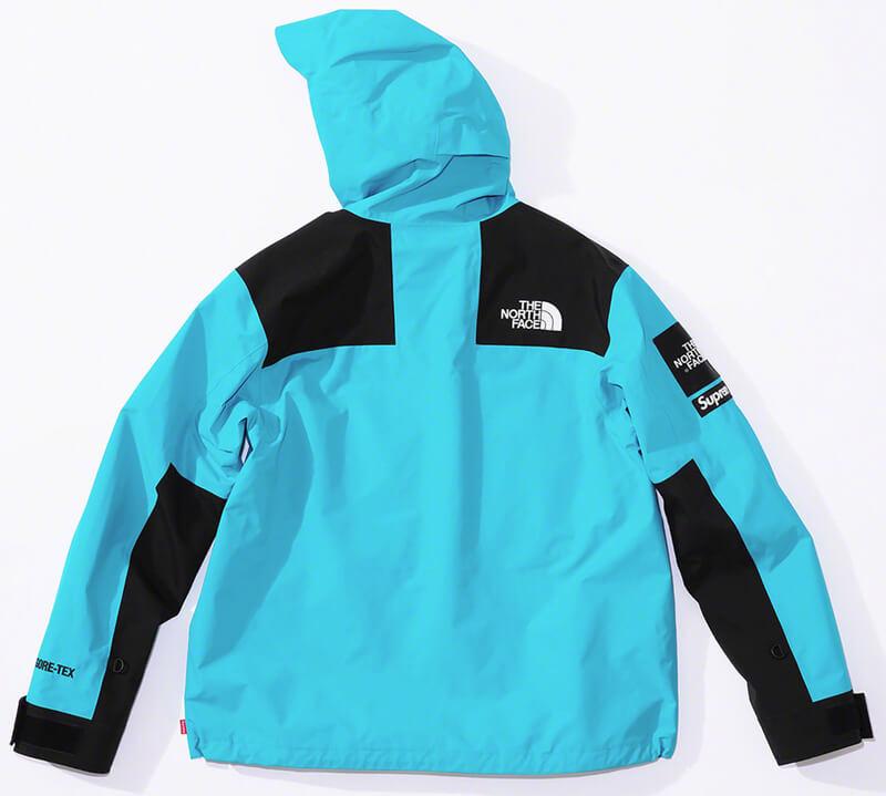 Supreme®/The North Face® Arc Logo Mountain Parka Blue Back