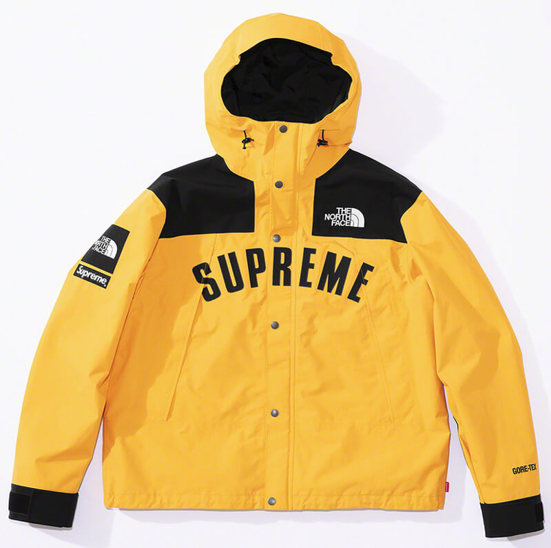 Supreme®/The North Face® Arc Logo Mountain Parka Yellow