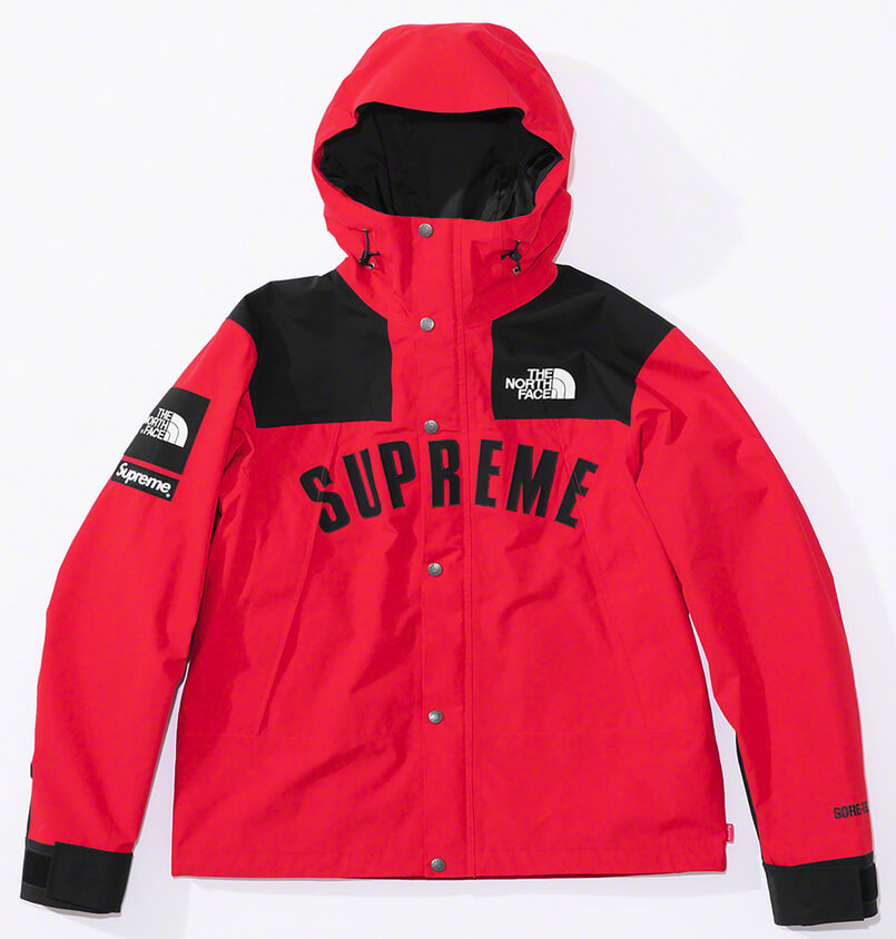 Supreme®/The North Face® Arc Logo Mountain Parka Red