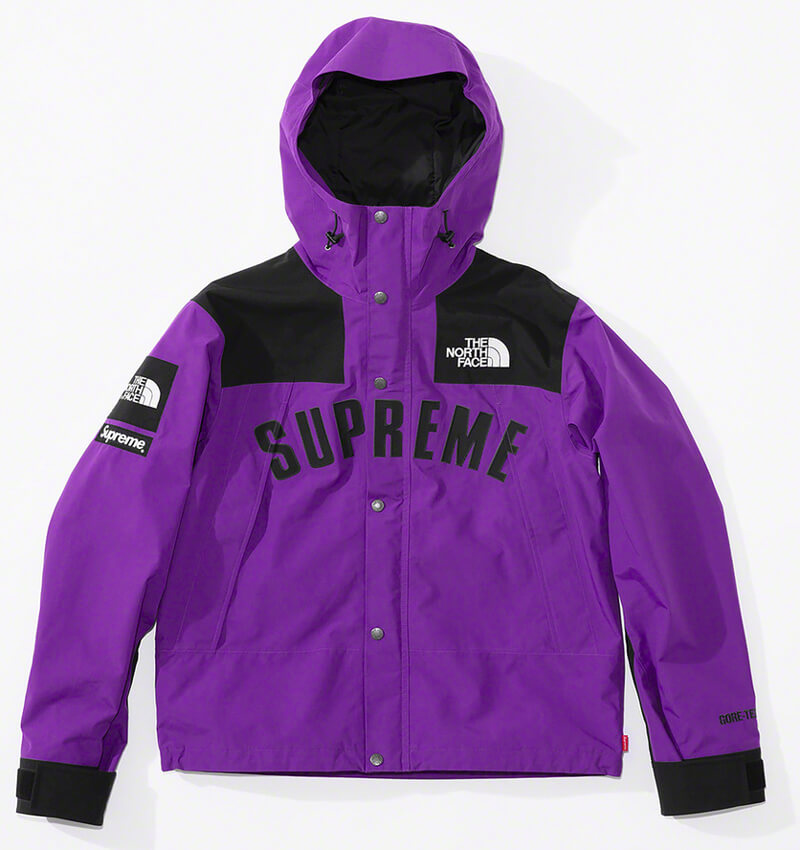 Supreme®/The North Face® Arc Logo Mountain Parka Purple