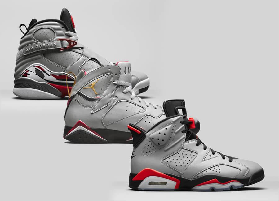 Nike Air Jordan 6/7/8 Reflections Of A