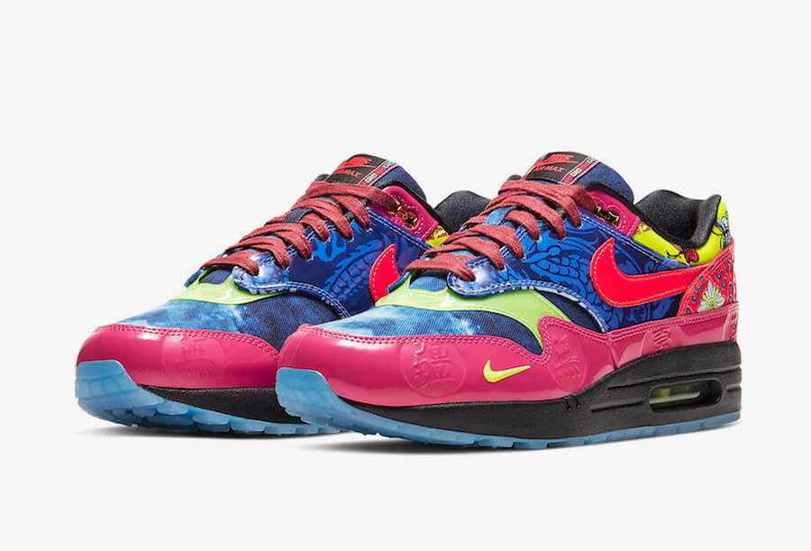 Espacio cibernético Comandante Intolerable  NIKE AIR MAX 1 Chinese New Yearは7000足限定!? 2020年1月24日発売 ...