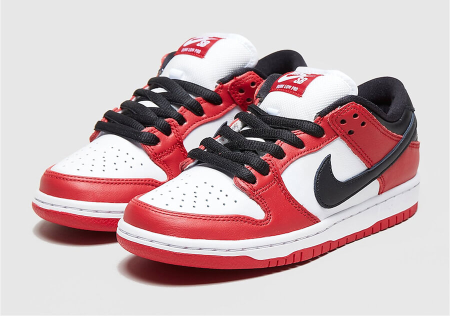 "NIKE SB DUNK Low ""Chicago"" J-Pack"
