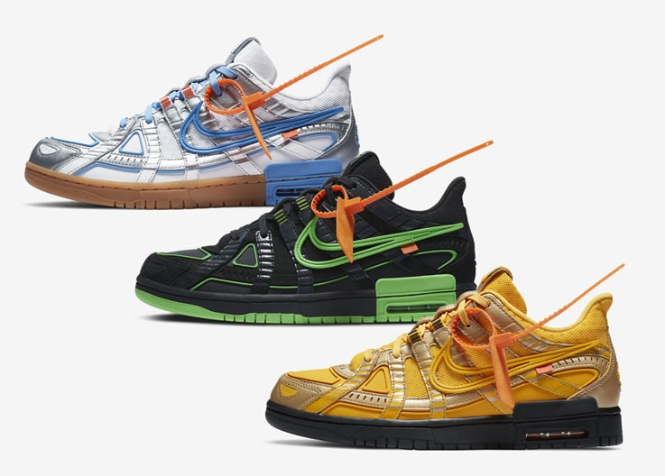 【抽選情報まとめ】Off-White × NIKE Rubber Dunk