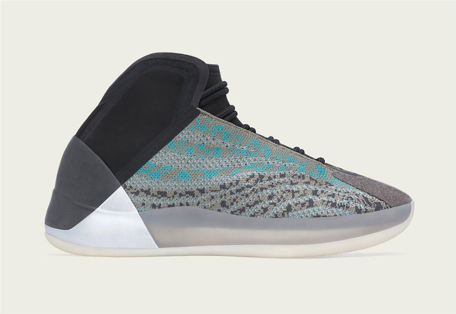 【10月10日発売】 adidas Yeezy QNTM Teal Blue G58864