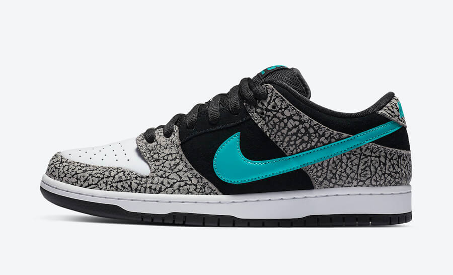 【抽選まとめ】 NIKE SB DUNK Low atmos Elephant BQ6817-009